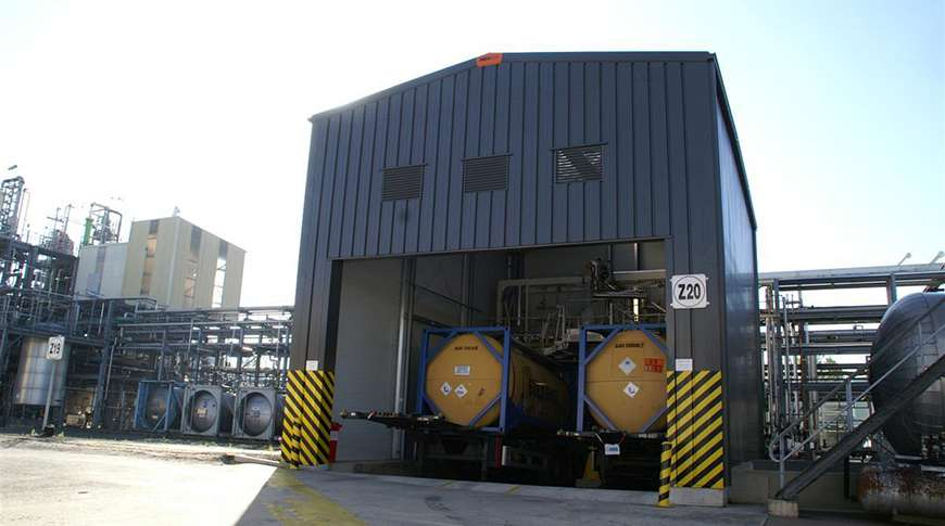 chemical industry steel industrial buildings PEB