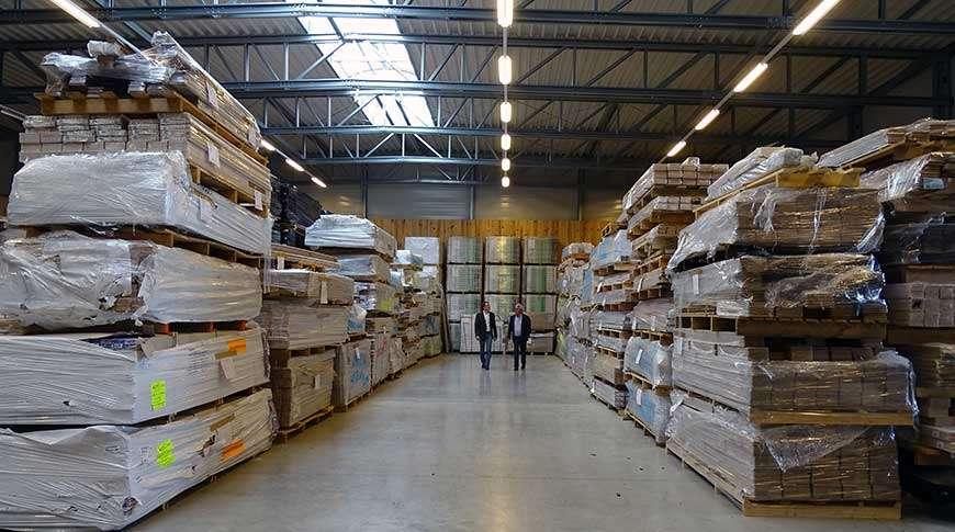 storage building warehouse industrial steel