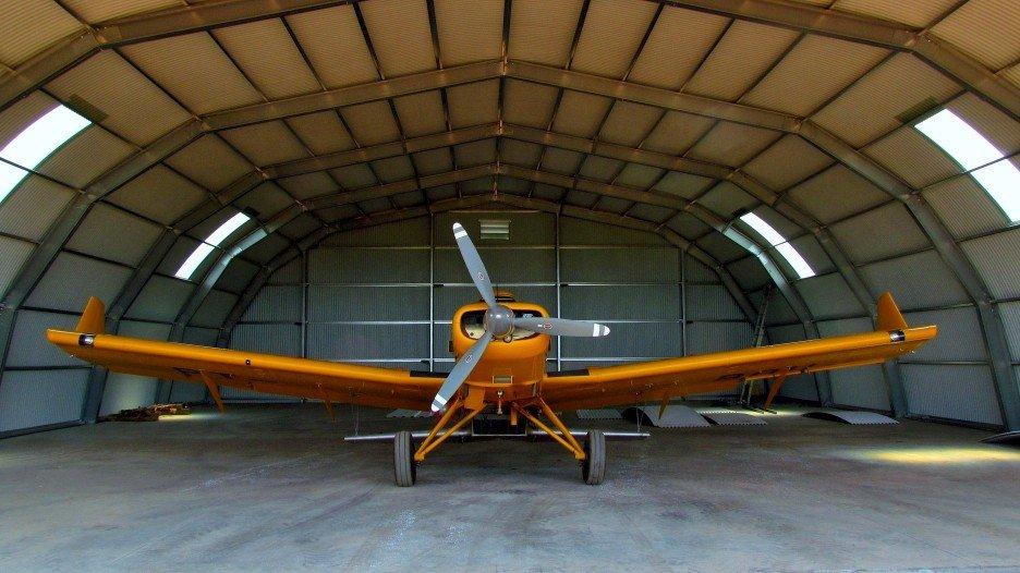 Industrielle Luftfahrthangars