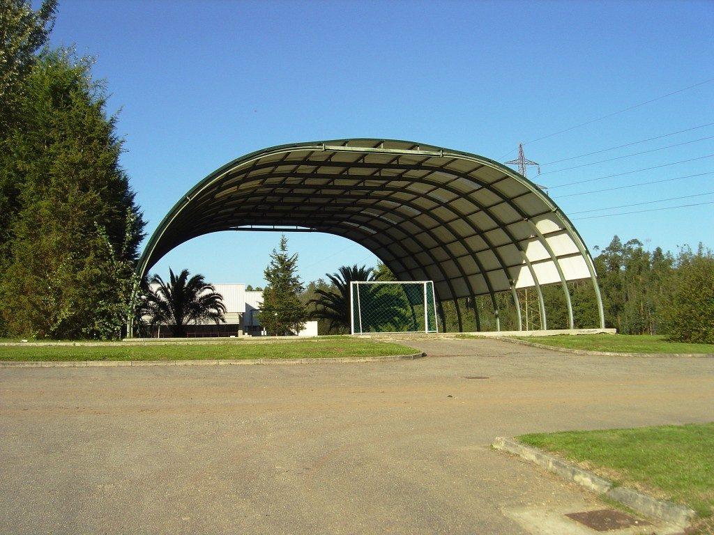 Lagerhallen für Ausrüstung bauen