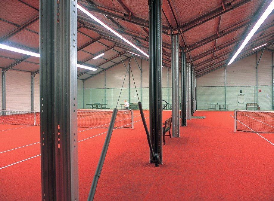 Lösungen für Tennisplätze