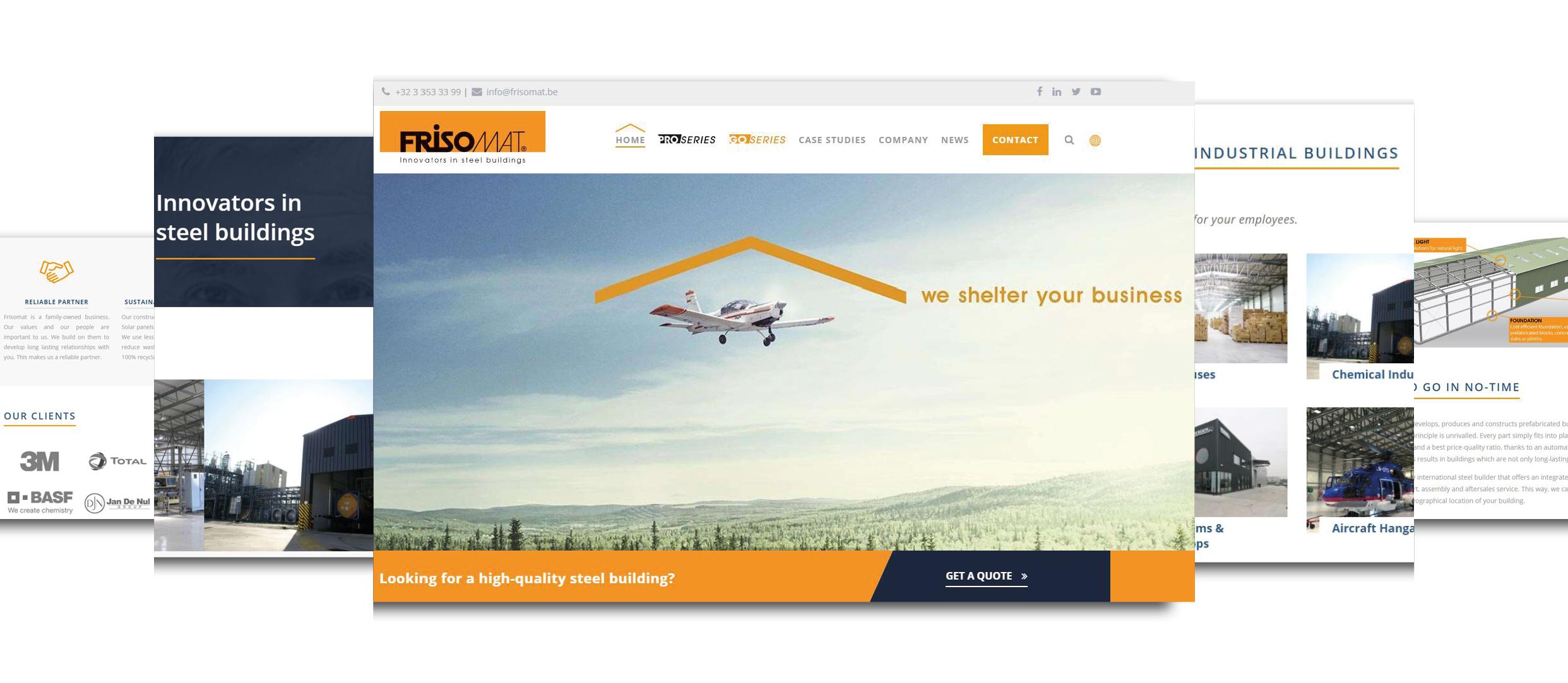 New website launch Frisomat