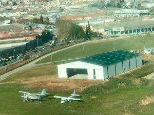 Hangar aviación aerodromo Sabadell 2018-02-01 at 11.38.12