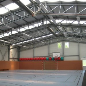 Basketballarena bauen